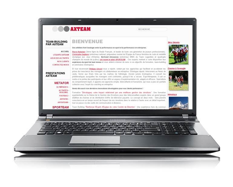 Site internet par Dizziweb - Axteam