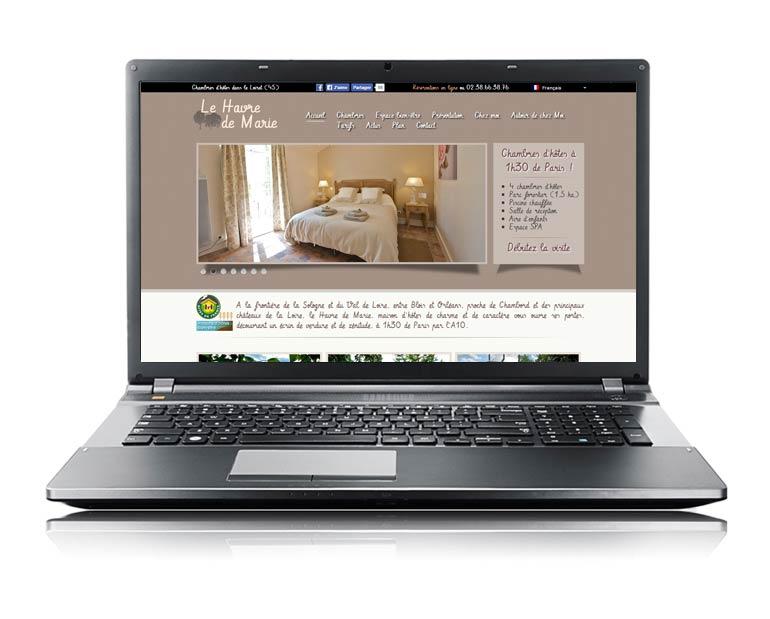Site internet par Dizziweb - Le Havre de Marie