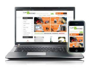 Boutique e-commerce site internet