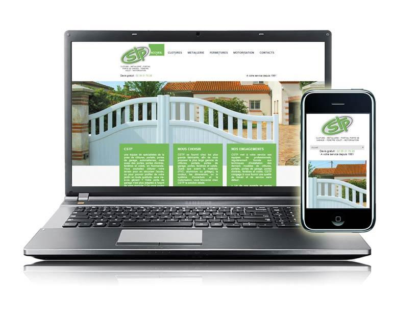 création site internet cstp normandie
