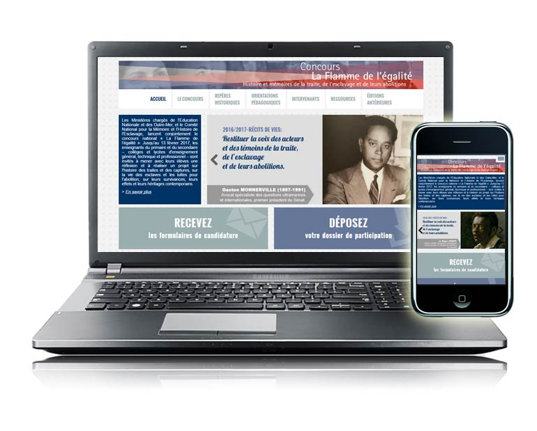 Webmastering site internet