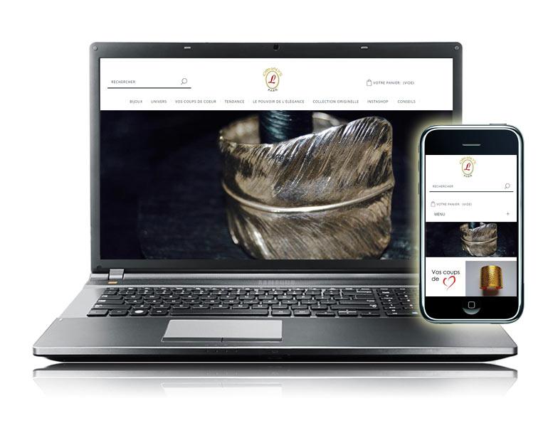Site e-commerce marchand ornalys bijoux